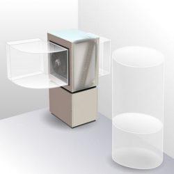 Compacte Lucht/Water Warmtepomp Binnenopstelling